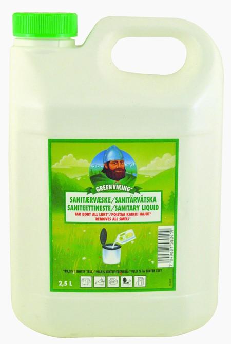Saneringsvätska Green Viking 2,5 L