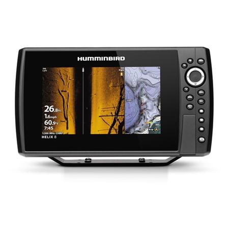 Humminbird Ekolod/GPS Helix-8 MEGA SI Plus Chirp G3N
