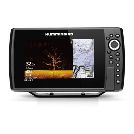 Humminbird Ekolod/GPS Helix-8 MEGA DI Chirp G3N