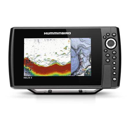 Humminbird Ekolod/GPS Helix-8 Chirp G3N