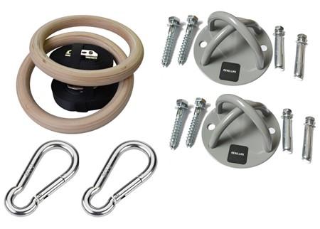 Romerska Ringar - Med takfästen och snabbkopplingar