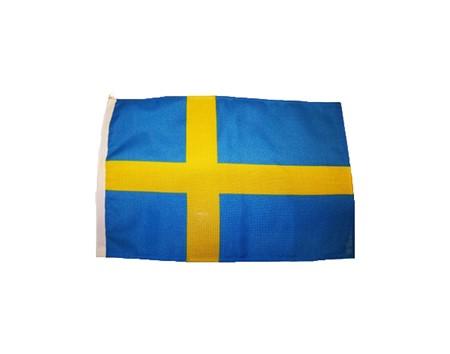 Svensk Båtflagga 50cm
