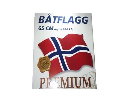 Norsk Båtflagga 65cm