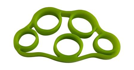 Motståndsband för fingerträning - Grön
