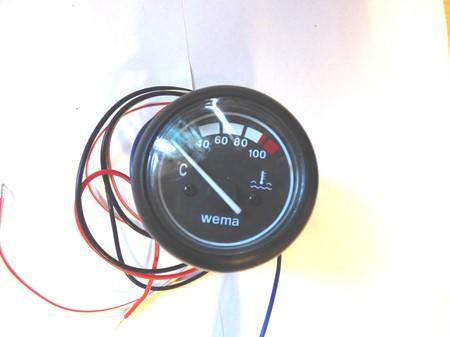 WEMA - Instrument för motortemp.