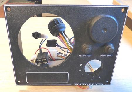 Volvo Penta Instrumenttavla - delkomplett