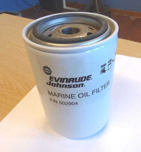 Evinrude/Johnson/OMC Oljefilter 502904