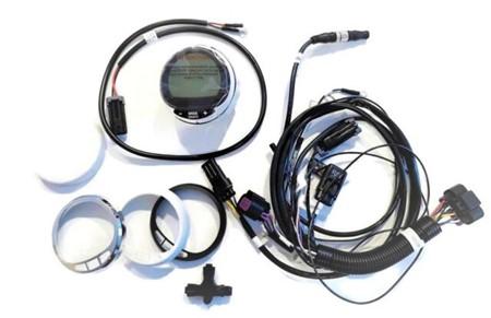 Mercury - Digitalt instrument med multifunktionsvisning