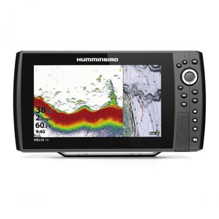 Humminbird Ekolod/GPS Helix-10 Chirp G3N