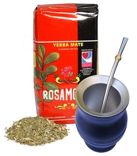 Yerba Mate - Rosamonte - Startkit - Stålkopp