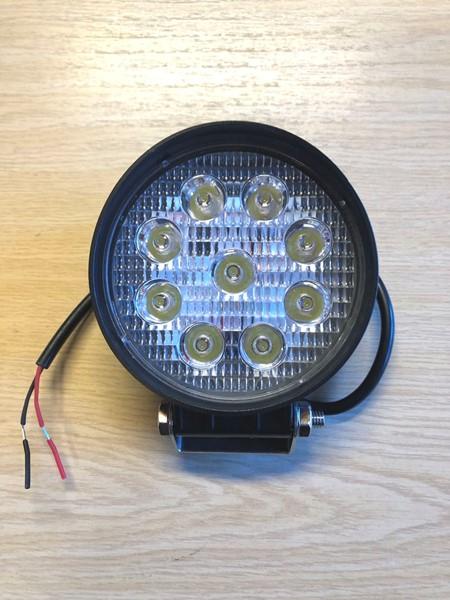 Rund LED Arbetsbelysning/Spotlight