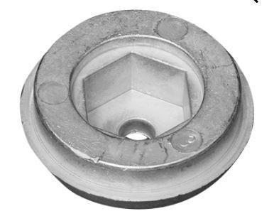 Anod Bogpropeller Sleipner 55-100