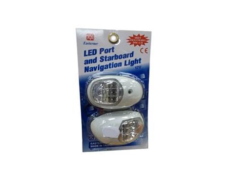 LED Navigationslampor Vit
