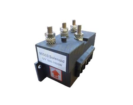 Solenoid 1500W-12V 4-pol