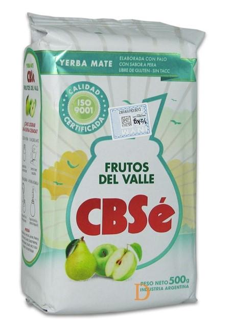 Yerba Mate - CBSé - Frutos del Valle (Äpple,Päron) - 500g
