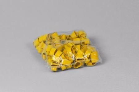 Gummiband till tång, Large, gul