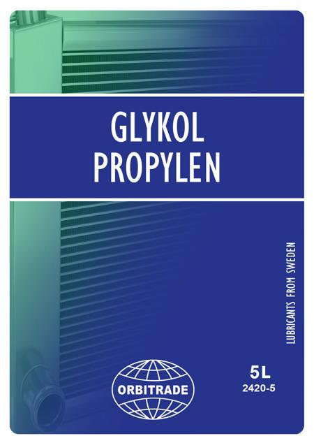 Glykol propylen 5L Grön Volvo