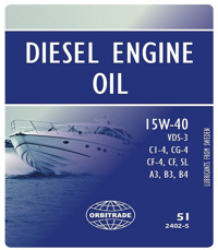 Volvo Penta olja