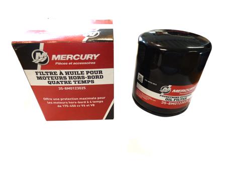 Mercury Oljefilter 8M0123025